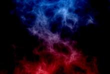Red Fire Versus Blue Ice Abstr...