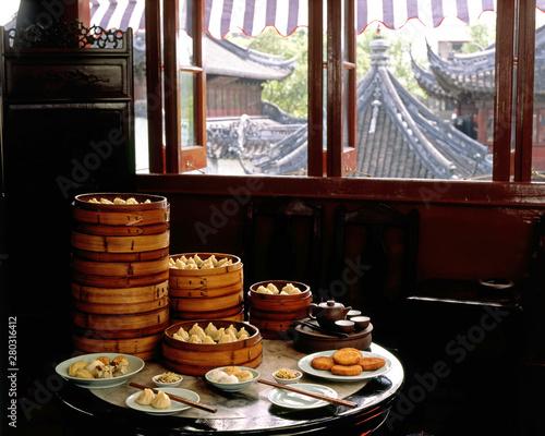 Chinese Food. Dimsum - Bangkok Wallpaper Mural