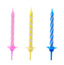 Colorful Striped Birthday Cand...