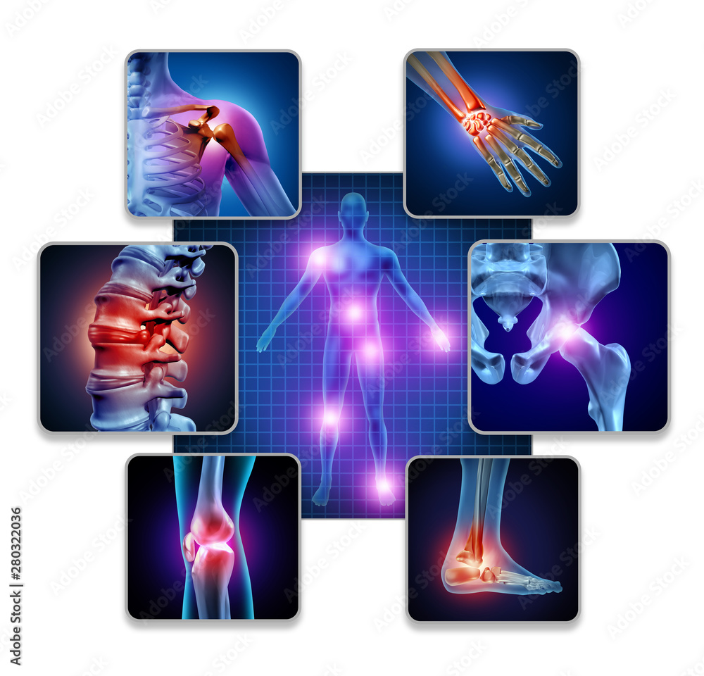Fototapeta Human Body Joint Pain