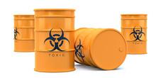 Yellow Biohazard Toxic Waste B...