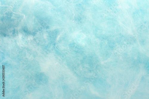 Photo Texture of cotton candy, closeup