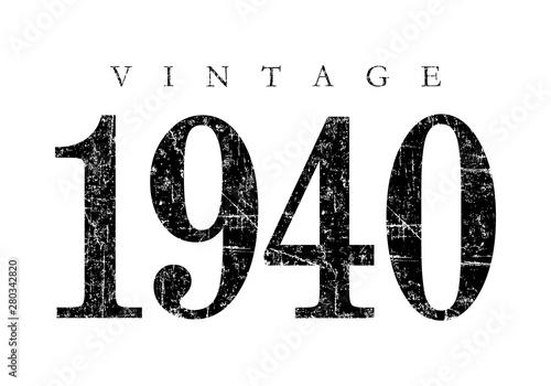 Tela  Vintage 1940 (Ancient Black)