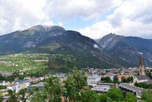 Landeck (Tirol) Luftansicht