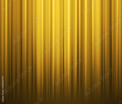 Yellow Curtain Background. Grunge fabric texture yellow background