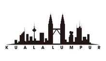 Kuala Lumpur And Landmarks Sil...
