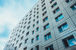 canvas print picture - plattenbau building at east berlin, germany