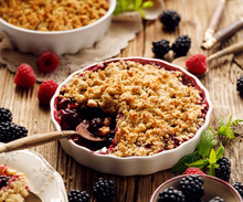 Crumble, Mixed Berry (blackber...