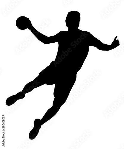Handball - 186 Canvas Print