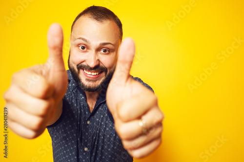 Fotografia  Thumbs UP concept