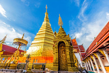 Wat Phra That Cho Hae, The Royal Temple, Is A Sacred Ancient Temple In Phrae, Thailand