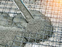 Concrete Pouring During Commer...