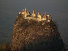 Mont Popa Birmanie