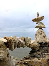 The Balance Of The Stones At Bay. The Nature Of The Stone. Love In Stone. Stone Arch. A Stone Boat.