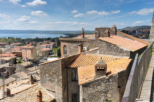 Bolsena City in Viterbo province, Italy Wallpaper Mural