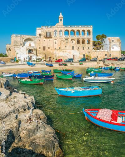Obraz na plátne The small and beautiful of San Vito, near Polignano a Mare, Bari Province, Apulia (Puglia), southern Italy