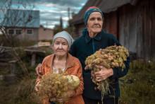Portrait Of Senior Women With ...