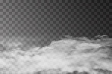White Fog Texture Isolated On ...