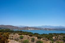 Lake Cachuma In Santa Barbara ...