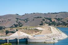 Bradbury Dam On Lake Cachuma I...
