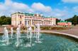 Beautiful palace at sunny day