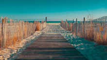 Boardwalk In Cape May NJ