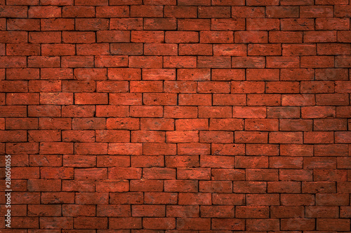 Recess Fitting Brick wall brick wall texture red or orange for background , Mon brick wall..
