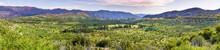 Panoramic View Of Beautiful Gr...