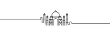 Taj Mahal Hand Drawn, India Ag...