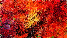 Drip Abstract Painting. Modern...
