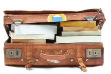 Suitcase With Books