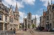 canvas print picture - Gent, Belgien