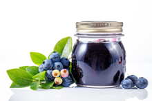 Blueberry Jam With Berries