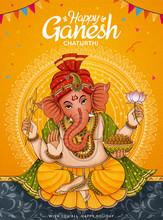 Happy Ganesh Chaturthi Poster