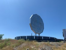 Big Nickel In Sudbury - Giant 5 Cent Coin
