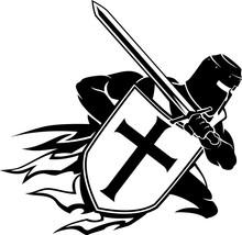 Crusader Christian Warrior Cha...