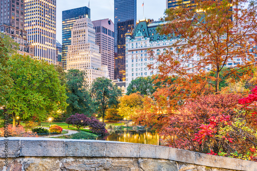 Cadres-photo bureau Automne Central Park, New York City Autumn