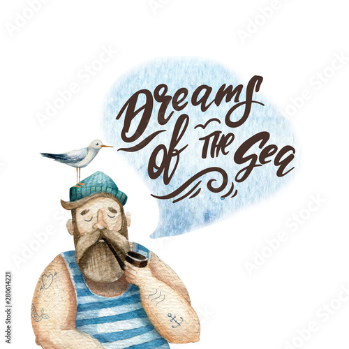 Obraz na plátně Dreams of the sea