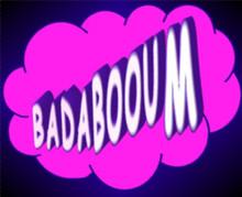Cartoon BADABOOM Illustration In Comic Book Cloud