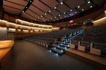 Interior View Of A Modern Auditorium