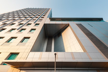 Low Angle View Of Office Building, Angola