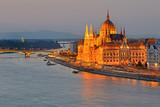 Fototapeta Miasto - Hungarian Parliament, Budapest, Hungary