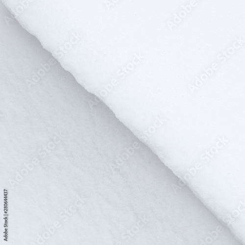 A close-up abstract of snow