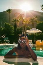 Cool Young Stylish Black Woman...