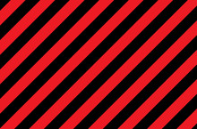 Illustration Of Red And Black Stripes.a Symbol Of Dangerous And Radioactive Substances.The Sample Is Widely Used In Industry