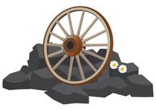 Wagon Wheel On The Rocks