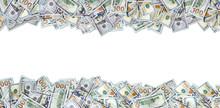 One Hundred Dollar Bills Isola...