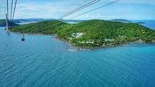 Ariel View Of Hon Thom Island ...