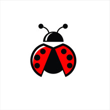 Lady Bug Logo Icon