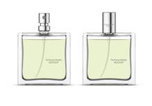 Perfume Glass Bottle Mockup, B...